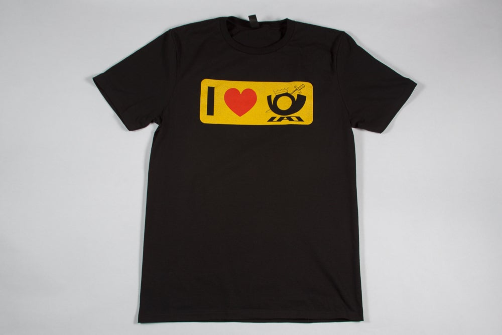 Image of I Love UAO T Shirt (DTM Collection)