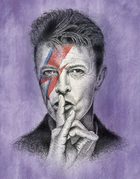 Image of David Bowie - Limited of 10