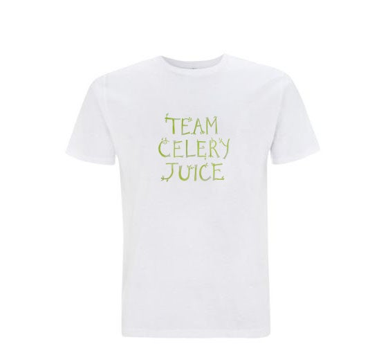 Image of 50% off sale! Team Celery Juice MEN'S Standard T-shirt