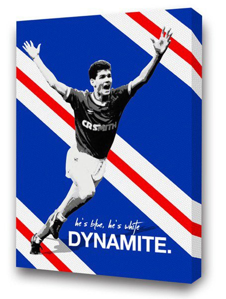 Image of Ian Durrant, Blue & White Dynamite