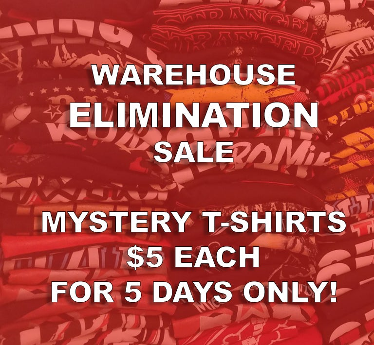 Image of $5 MYSTERY T-SHIRT - 5 DAY SALE!  (US Addresses Only)