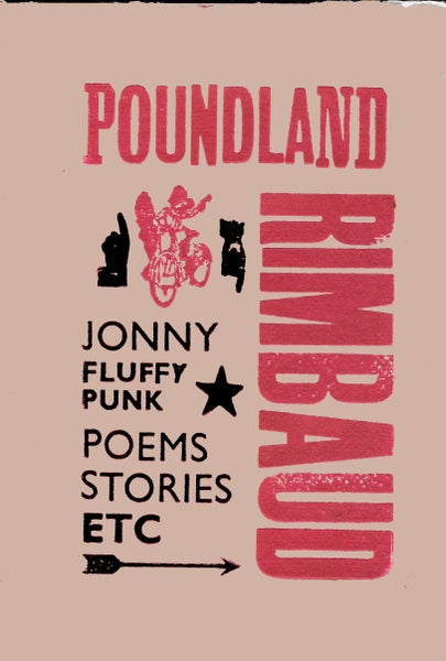 Image of Poundland Rimbaud by Jonny Fluffypunk