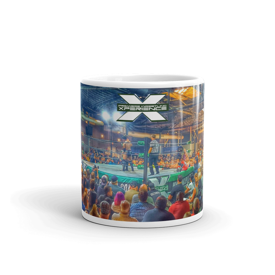 Image of Coffee Mug PWX crowd retro
