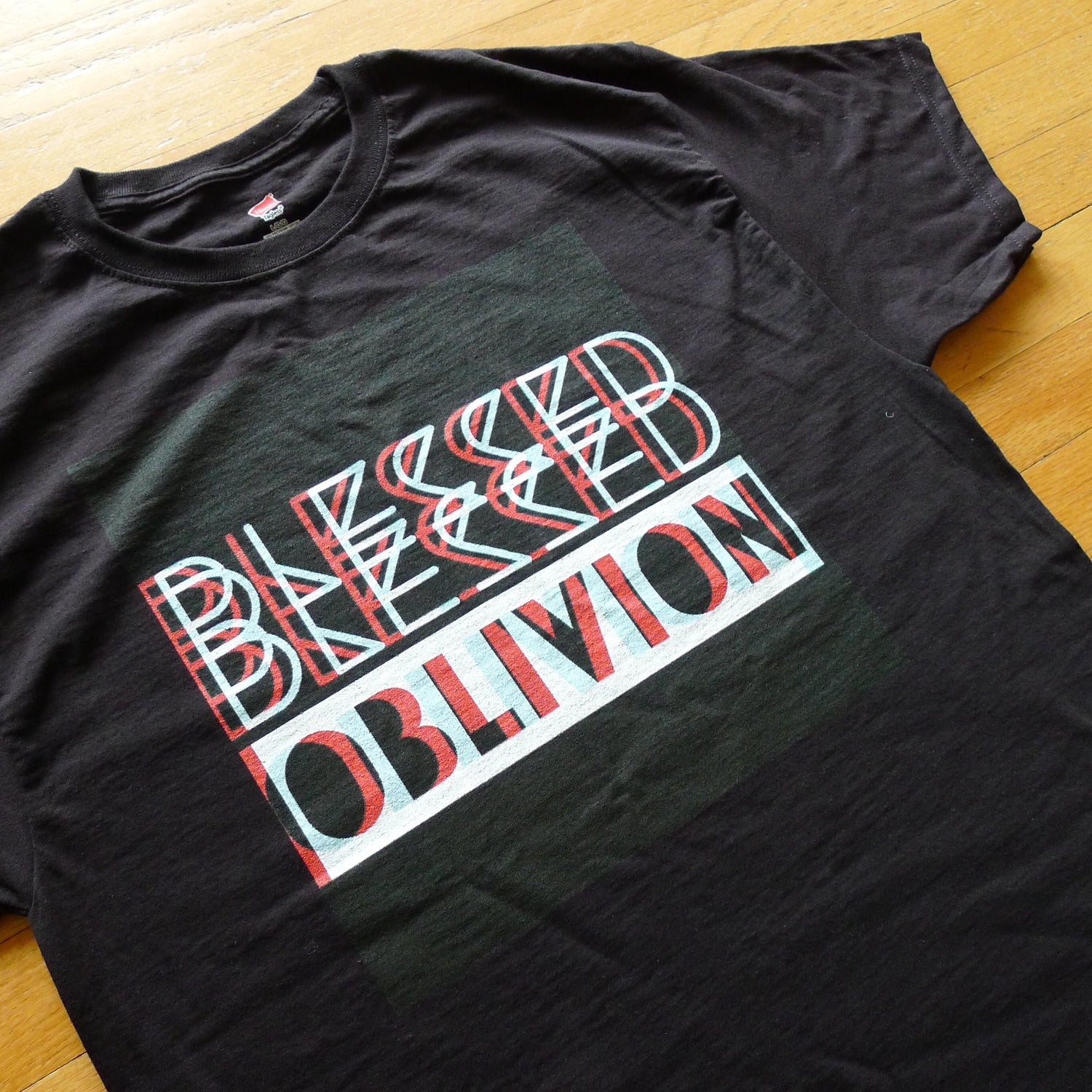 Image of Blessed Blesssed Oblivion / Glitch Shirt / Black