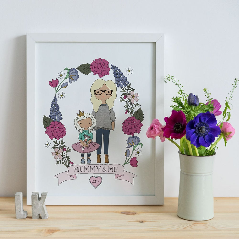 Image of Personalised Mummy and Me Gift