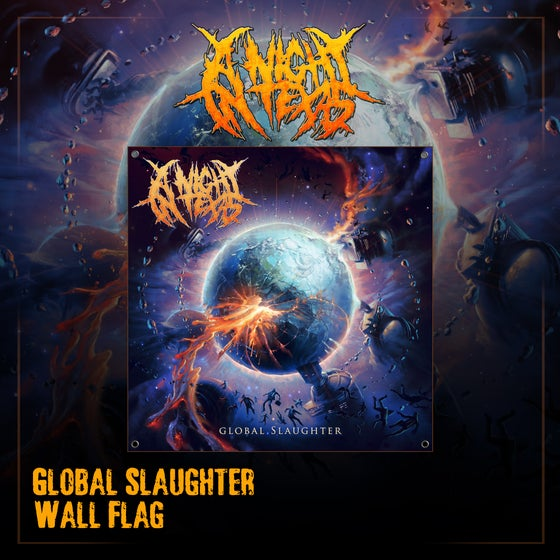 Image of Global Slaughter Wall Flag