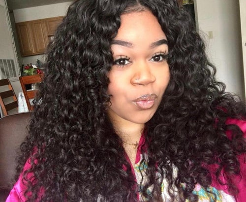 "Image of ""CURLS RUN THE WORLD"" Goddess Lace Frontal Wig"