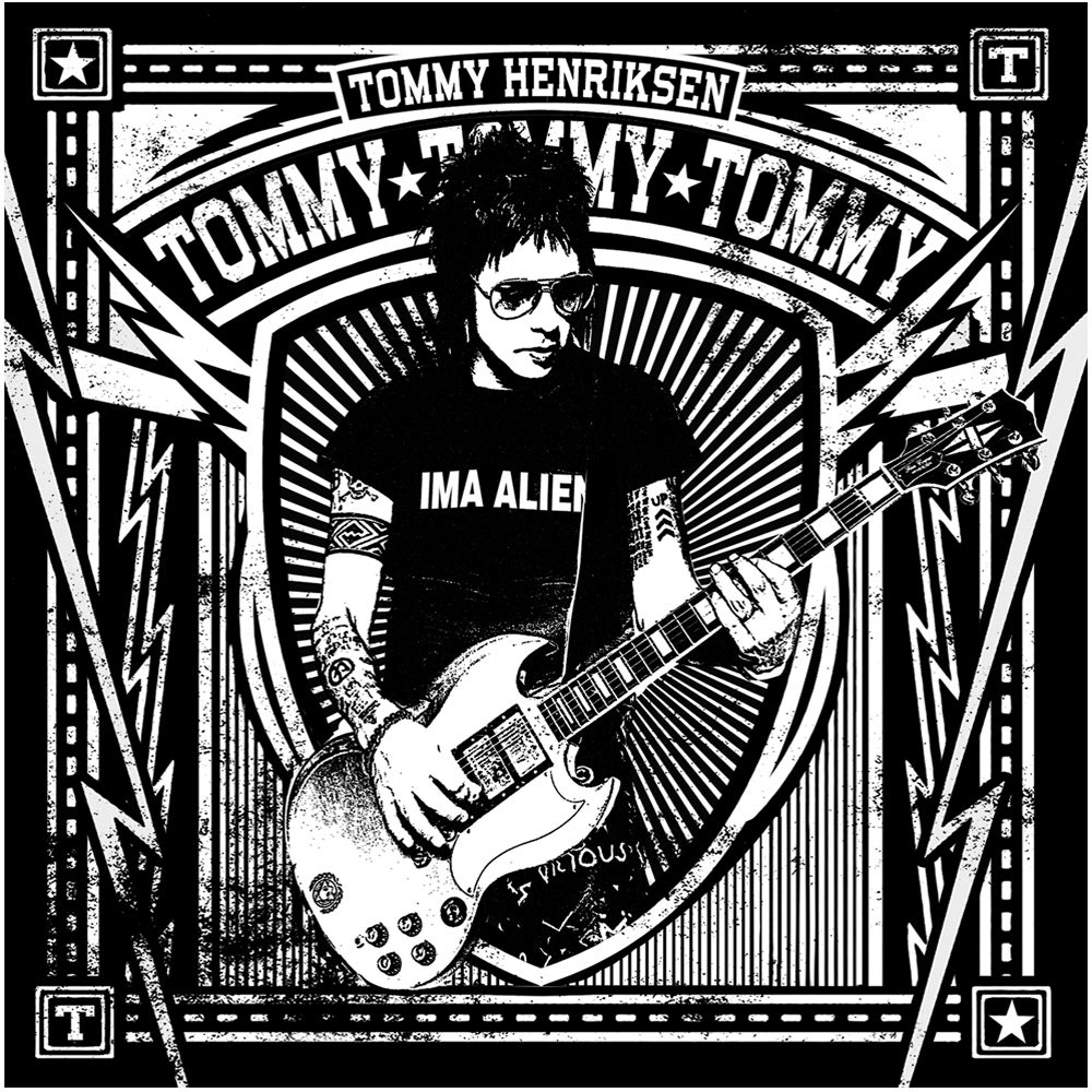 Image of Tommy Henriksen - Tommy Tommy Tommy - LP + Download Code + Poster