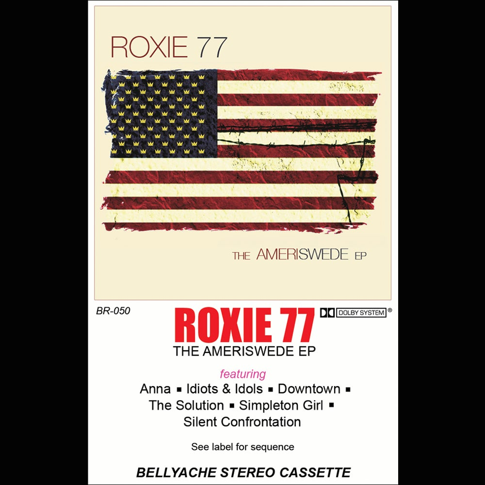 Image of Roxie 77 - The Ameriswede EP - Cassette + Download Code