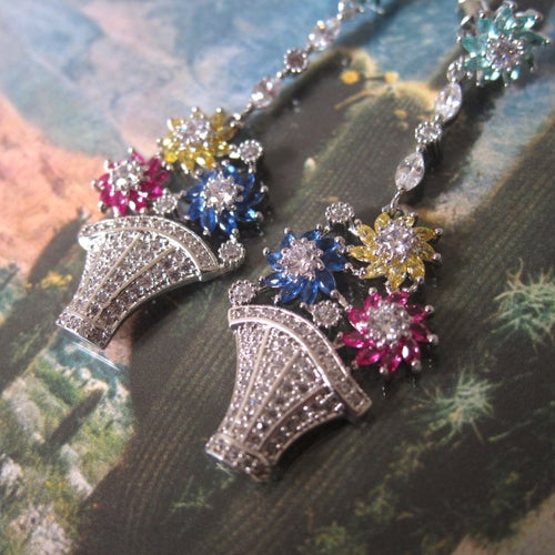 Image of Sicilian Garden earrings