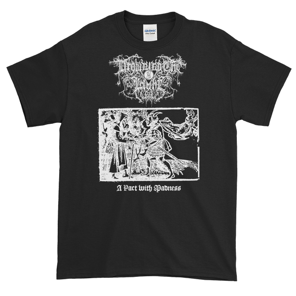 "Image of Drowning the Light - ""A Pact with Madness"" shirt"
