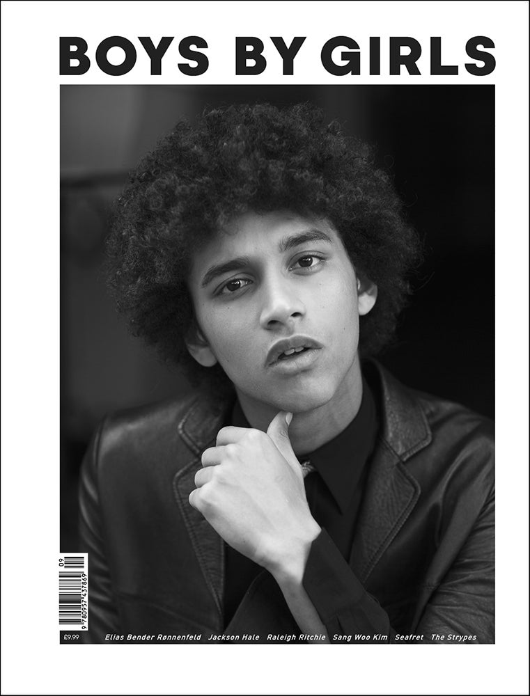 Image of BOYS BY GIRLS ISSUE 9 | GROWING SIDEWAYS | PRINT ISSUE | JACKSON HALE COVER