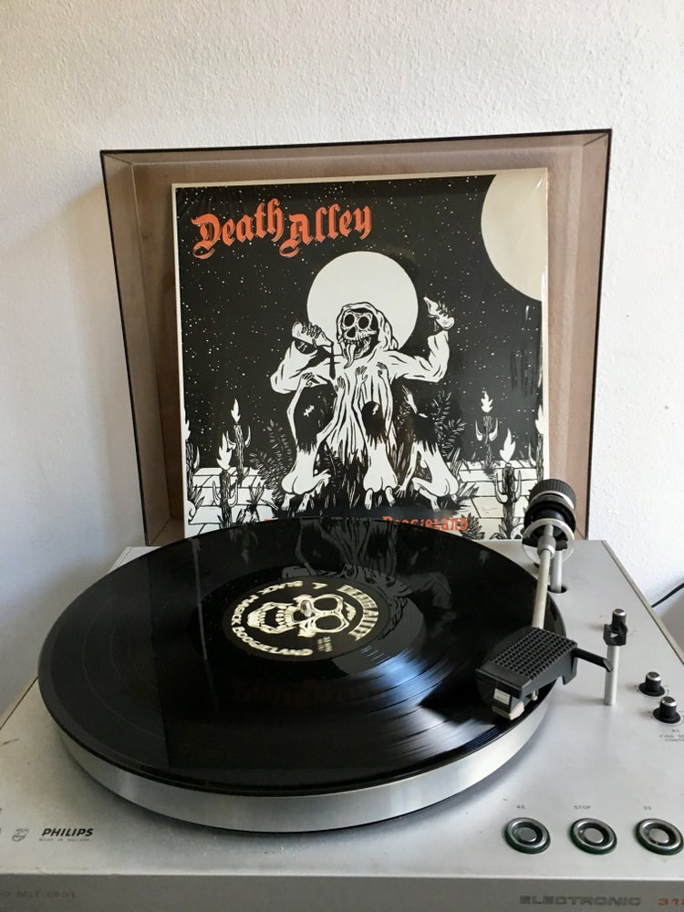 "Image of Back on black: ""Black Magick Boogieland"" LP (black vinyl)"