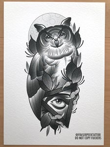Image of Owl A4