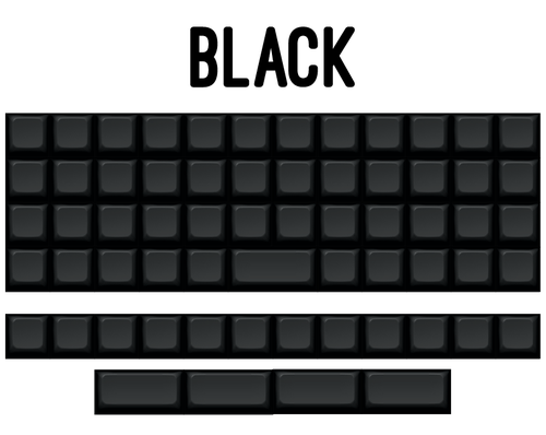 Image of K-Series Blank Planck & Preonic Keysets
