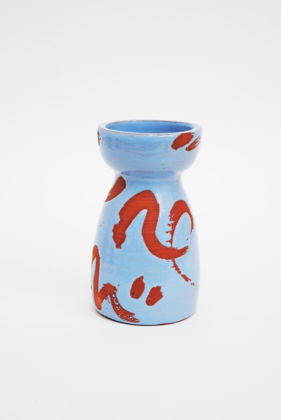 Image of Deco Dance Terracotta powder blue