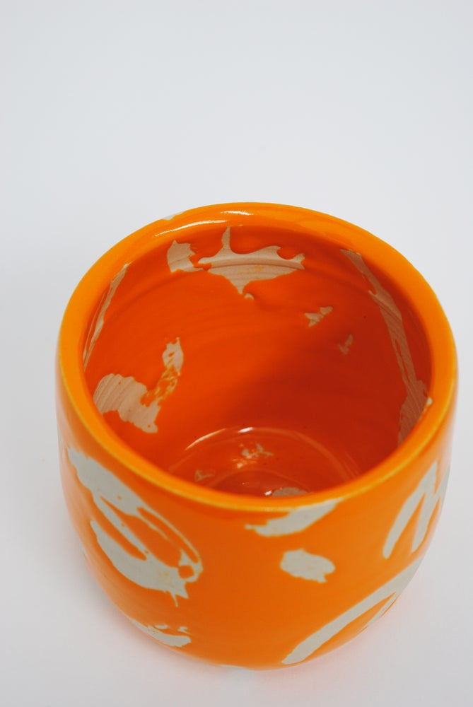 Image of Deco Dance Plant Pot Orange