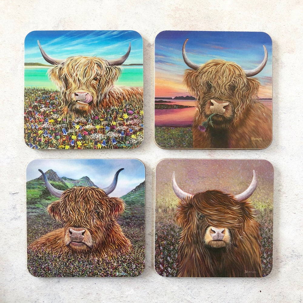 Image of Coo coasters