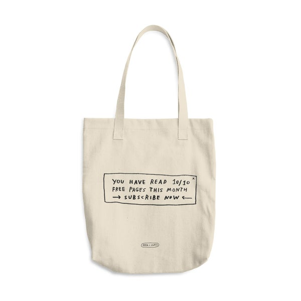 Image of Paywall Tote Bag