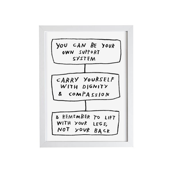 Image of Carry Yourself Print