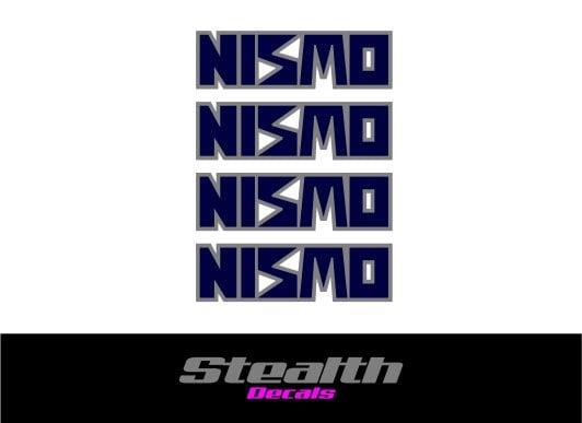 Image of NISMO Premium Wheel decals stickers x4,LM-GT, GTR Skyline r32