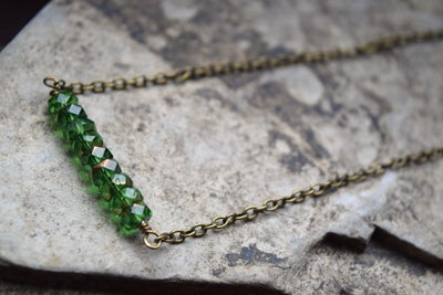 Image of The Verde Vaso necklace