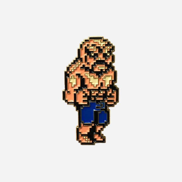 Image of Double Dragon Abobo lapel pin