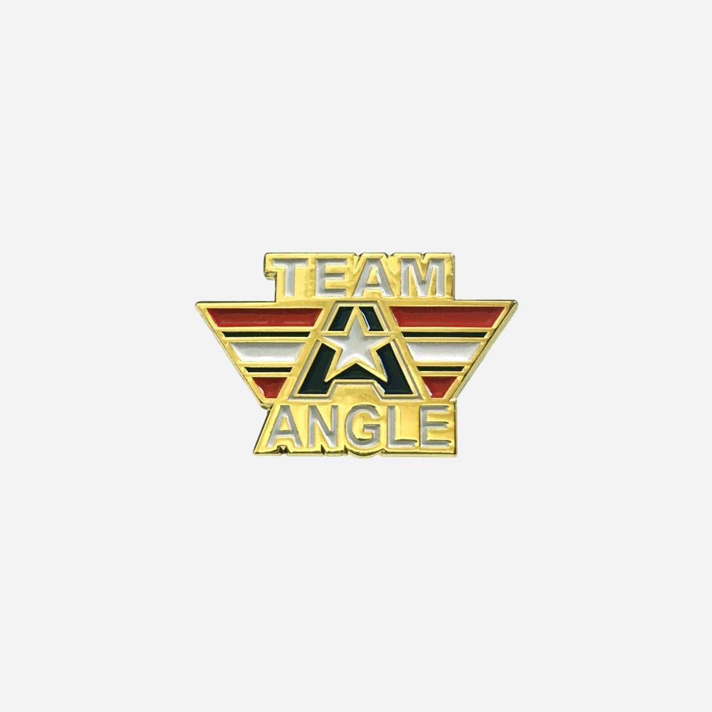 Kurt Angle lapel pin - Team Angle