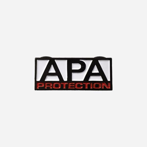 Image of APA Protection lapel pin
