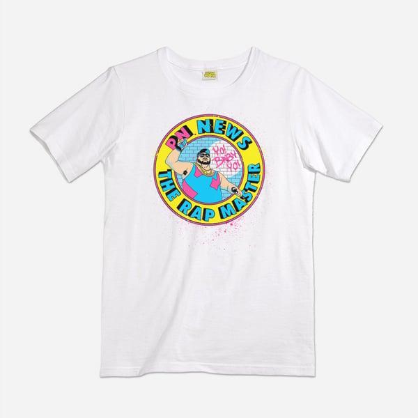 Image of P.N. News Rapmaster shirt