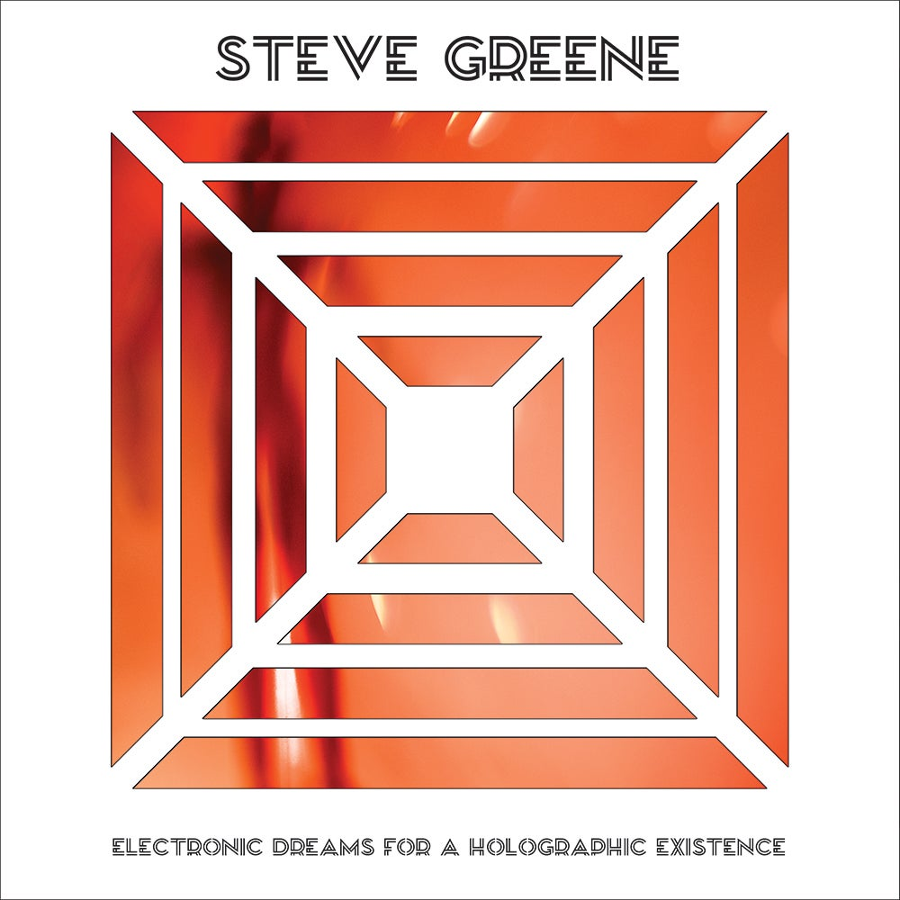 Image of Steve Greene (of Voyag3r) - Electronic Dreams For A Holographic Existence - LP + Download Code
