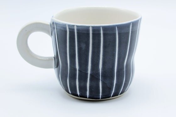 Image of Blue Pinstripe Mug