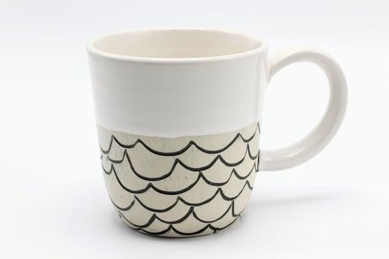 Image of Black Waves Mug