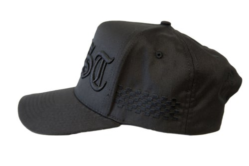 Image of TFG Black ON Black Fast Trucker Hat