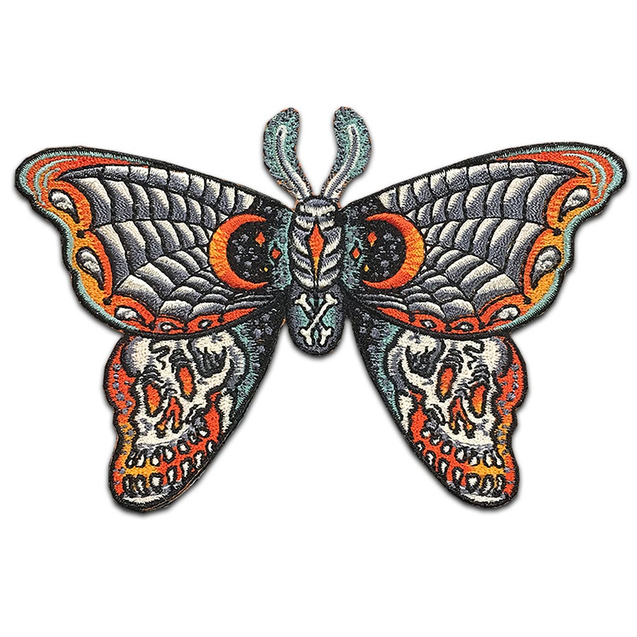Image of Death Moth - Patch