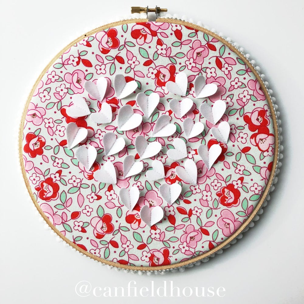 "Image of 8"" Flutter Heart of Heart Hoop"