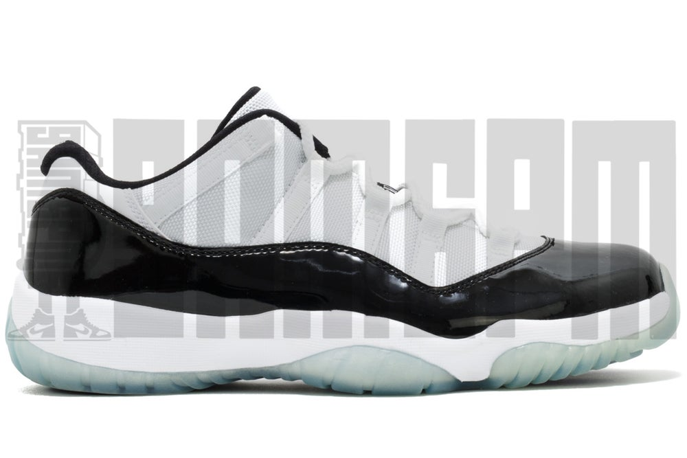 "Image of Nike AIR JORDAN 11 RETRO LOW ""CONCORD"""