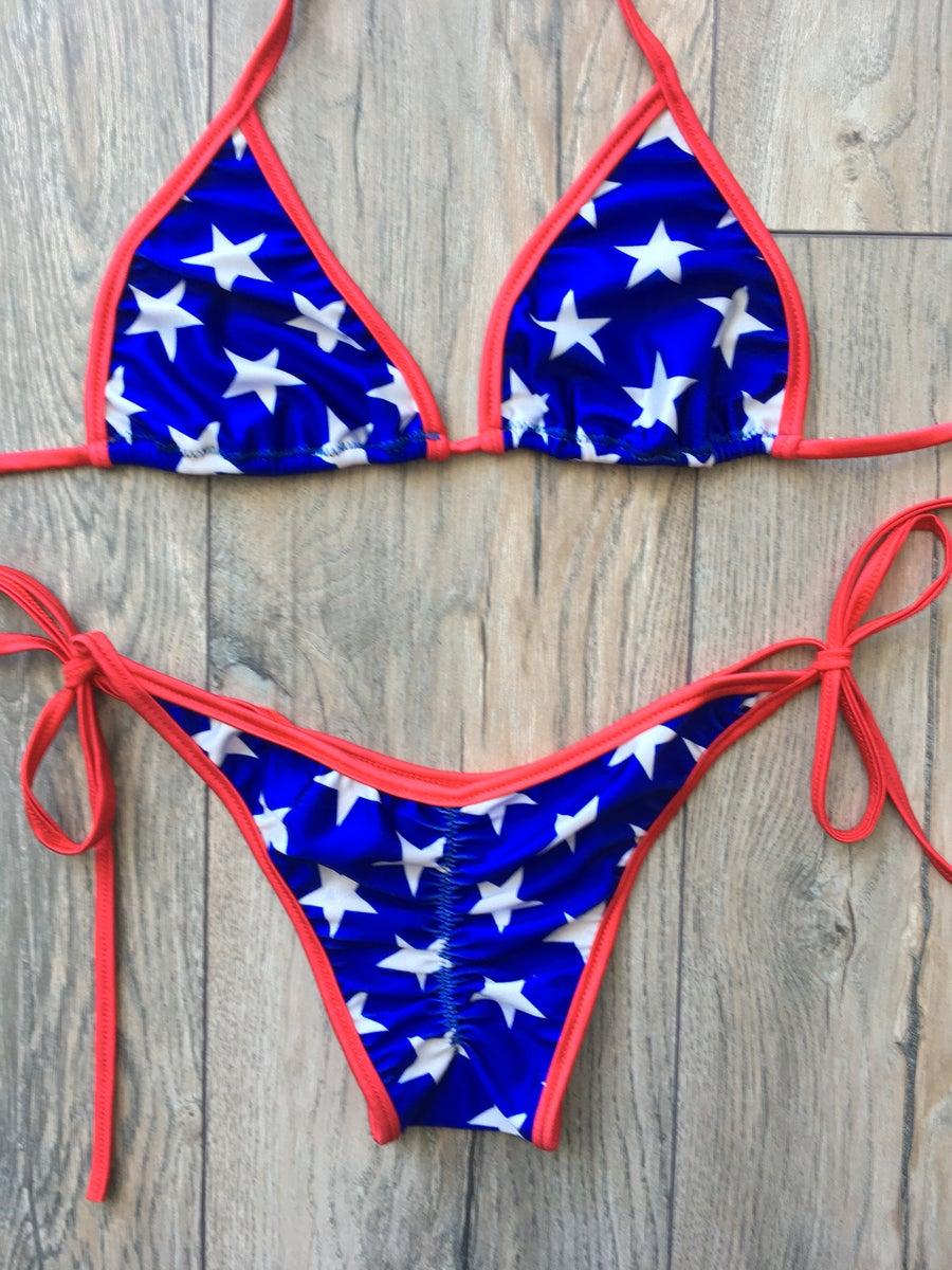 Image of Patriotic basic Triangle set