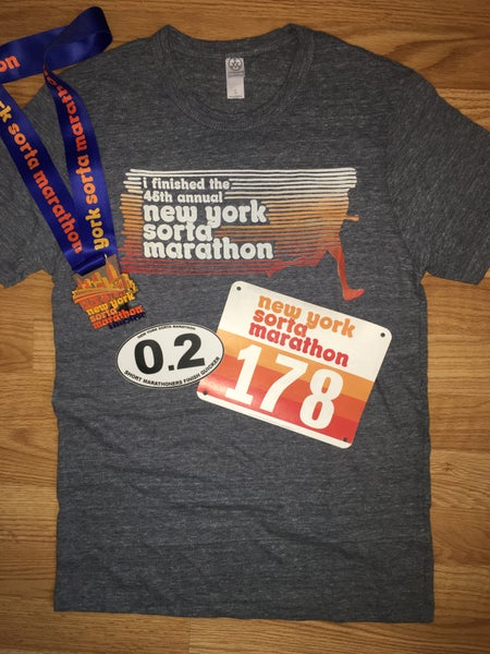 "Image of ""I FINISHED A MARATHON"" PACKAGE"