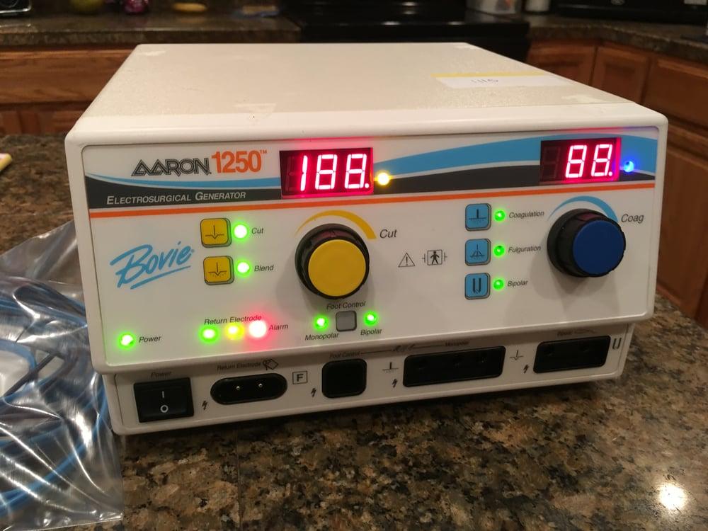 Image of Aaron Bovie 1250 ESU