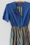 Image of Stripes and Buttons Carnival Dress