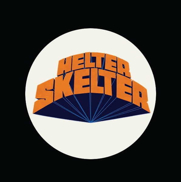 "Image of HELTER SKELTER 1.5"" (3.81cm) badges/buttons 2-pack"