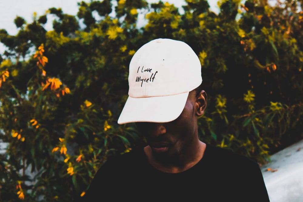 Image of Cream ILoveMyself hat