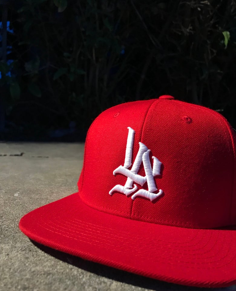 "Image of ""LA"" Snapback (Different Color Options)"