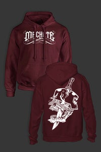 Image of MACHETE EMPIRE hoodie bordeaux