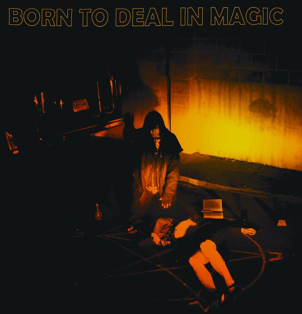 Image of Shooting Guns - Born To Deal In Magic (Oxblood/Black Swirl Vinyl) 1 LEFT