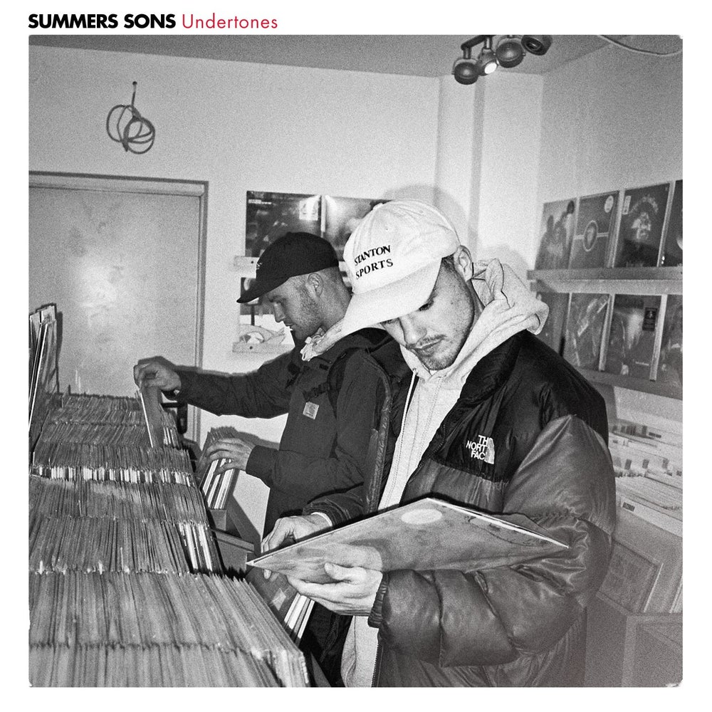 Image of Summers Sons - Undertones - LP (MELTING POT MUSIC)