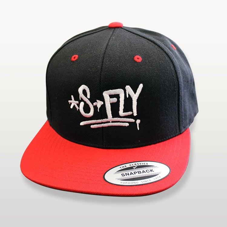 Image of S-FLY GHEDDO SNAPBAG-BLK/RED