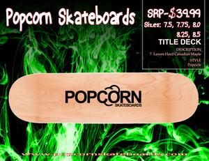 Image of Popcorn Skateboard Title