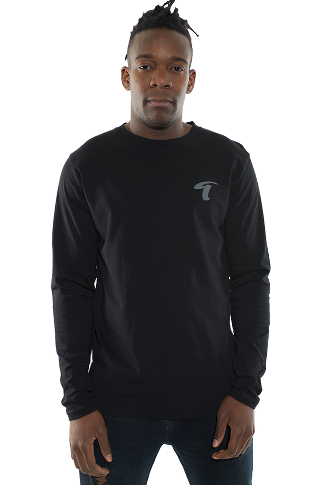 Image of Long Sleeve T-shirt T logo